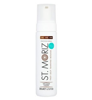 Tanning Tales: St Moriz Fast Self Tanning Mousse – Review