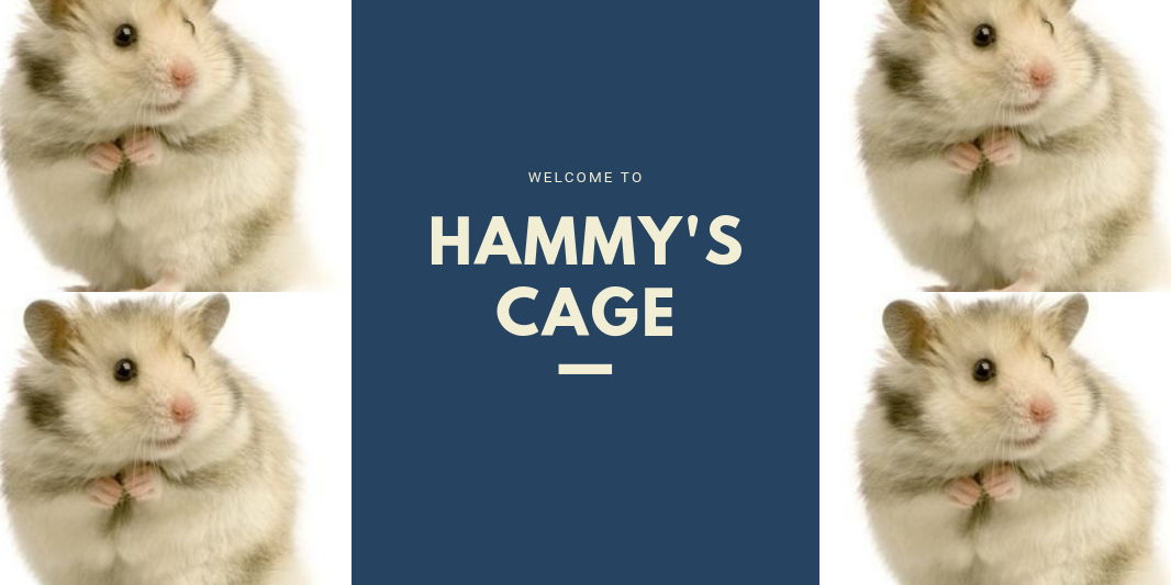 Welcome To Hammy's Cage